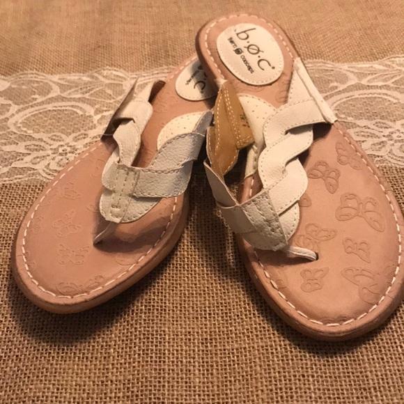 699ad844794 b.o.c. White Sandals - Size 6